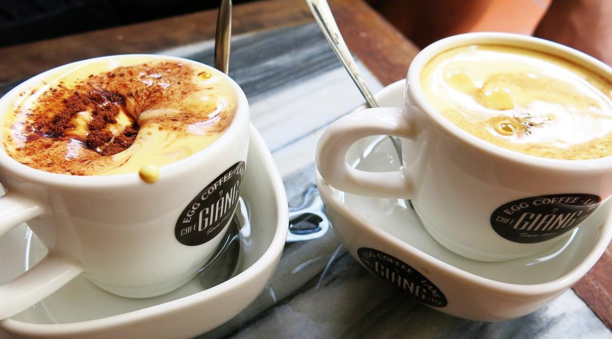 Egg coffee: Sounds weird, tastes wonderlish