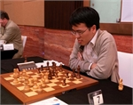 Le Quang Liem lost to Georgia grandmaster at UAE
