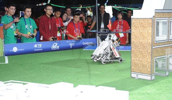 Vietnam attends world robot contest in Mexico, IT news, sci-tech news, vietnamnet bridge, english news, Vietnam news, news Vietnam, vietnamnet news, Vietnam net news, Vietnam latest news, Vietnam breaking news, vn news