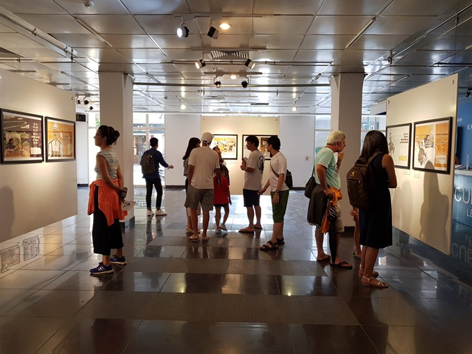 Satirical paintings of subsidy era on show