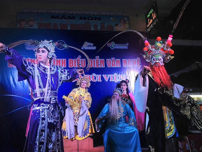 New hát bội performances celebrate August Revolution