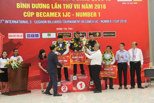 Vietnamese cueist wins title at Becamex IJC Cup 2018, Sports news, football, Vietnam sports, vietnamnet bridge, english news, Vietnam news, news Vietnam, vietnamnet news, Vietnam net news, Vietnam latest news, vn news, Vietnam breaking news