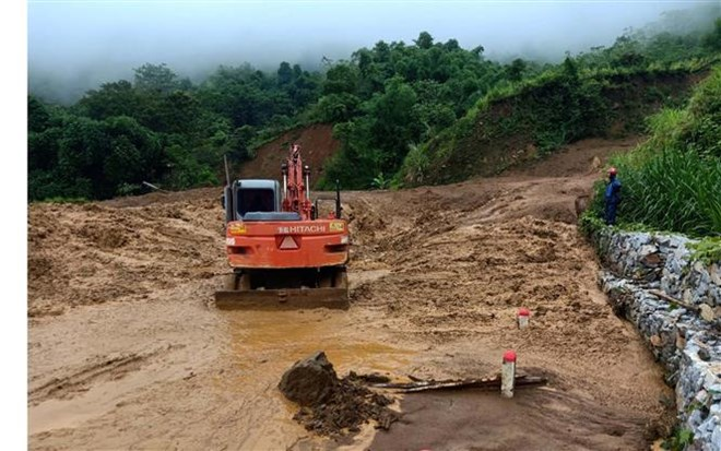 Typhoon-triggered floods leave 10 dead, 2 missing, social news, vietnamnet bridge, english news, Vietnam news, news Vietnam, vietnamnet news, Vietnam net news, Vietnam latest news, vn news, Vietnam breaking news