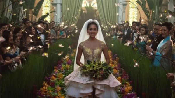 Crazy Rich Asians, top US box office