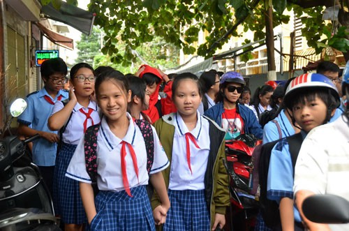 Schools face new term overcrowding, Vietnam education, Vietnam higher education, Vietnam vocational training, Vietnam students, Vietnam children, Vietnam education reform, vietnamnet bridge, english news, Vietnam news, news Vietnam, vietnamnet news, Vietn