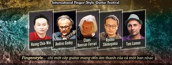 Vietnam Int'l Fingerstyle Guitar Festival 2018 to return to Hanoi, entertainment events, entertainment news, entertainment activities, what's on, Vietnam culture, Vietnam tradition, vn news, Vietnam beauty, news Vietnam, Vietnam news, Vietnam net news, vi