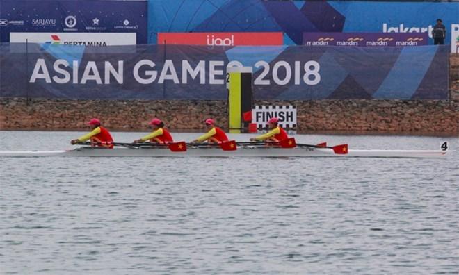 ASIAD 2018: Rowers win first gold medal for Vietnam, Sports news, football, Vietnam sports, vietnamnet bridge, english news, Vietnam news, news Vietnam, vietnamnet news, Vietnam net news, Vietnam latest news, vn news, Vietnam breaking news