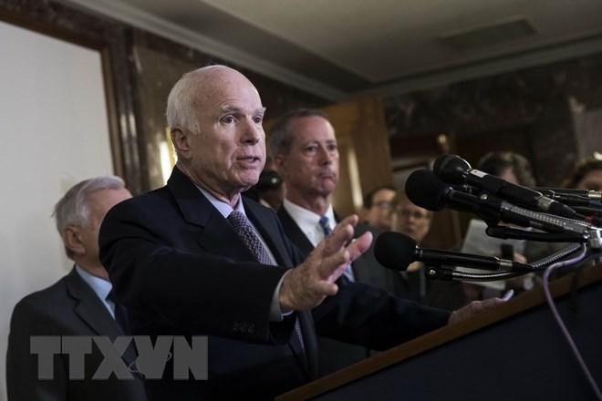 A look back at John McCain's activities, Government news, Vietnam breaking news, politic news, vietnamnet bridge, english news, Vietnam news, news Vietnam, vietnamnet news, Vietnam net news, Vietnam latest news, vn news