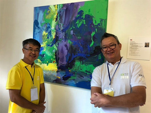 Int'l exchange camp, painting exhibition, do paper, Vietnam economy, Vietnamnet bridge, English news about Vietnam, Vietnam news, news about Vietnam, English news, Vietnamnet news, latest news on Vietnam, Vietnam