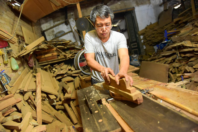 Hanoi family pursues mooncake mould making for decades, entertainment events, entertainment news, entertainment activities, what's on, Vietnam culture, Vietnam tradition, vn news, Vietnam beauty, news Vietnam, Vietnam news, Vietnam net news, vietnamnet ne