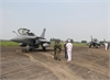 French fighters land for a three-day visit