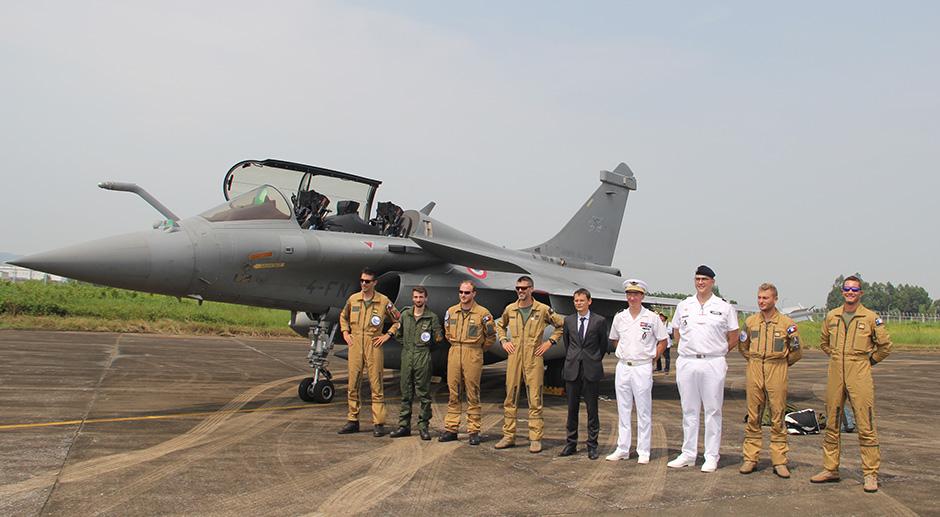 French fighters land for a three-day visit, social news, vietnamnet bridge, english news, Vietnam news, news Vietnam, vietnamnet news, Vietnam net news, Vietnam latest news, vn news, Vietnam breaking news