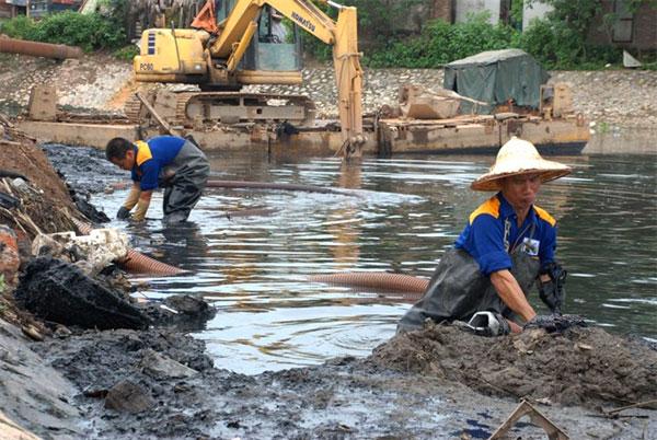 Hanoi, Kim Nguu River, clean, Vietnam economy, Vietnamnet bridge, English news about Vietnam, Vietnam news, news about Vietnam, English news, Vietnamnet news, latest news on Vietnam, Vietnam