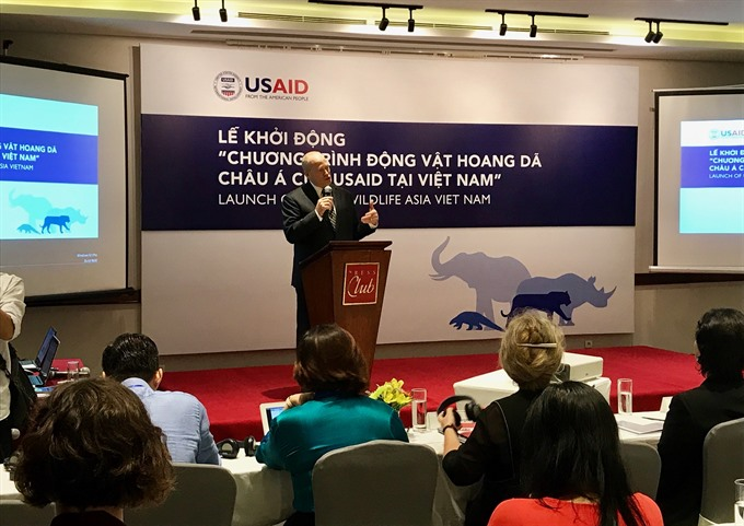 USAID promotes Chi initiative to drive down demand for rhino horn, Vietnam environment, climate change in Vietnam, Vietnam weather, Vietnam climate, pollution in Vietnam, environmental news, sci-tech news, vietnamnet bridge, english news, Vietnam news, ne
