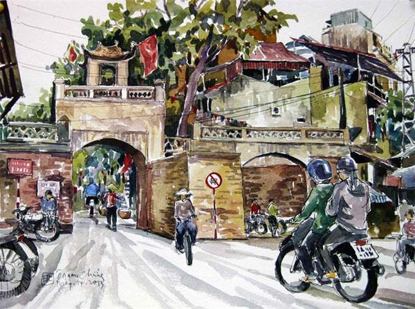 Late painter Bui Xuan Phai, book by writer Bang Son, sketches, Vietnam economy, Vietnamnet bridge, English news about Vietnam, Vietnam news, news about Vietnam, English news, Vietnamnet news, latest news on Vietnam, Vietnam