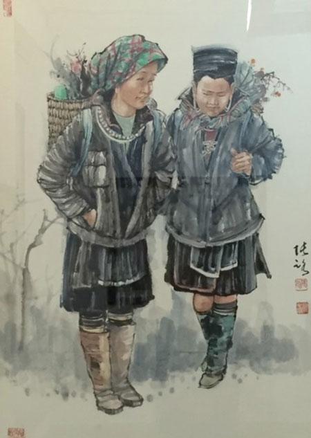 Watercolour painting exhibition, Chinese-Vietnamese artists, thuy mac art, Vietnam economy, Vietnamnet bridge, English news about Vietnam, Vietnam news, news about Vietnam, English news, Vietnamnet news, latest news on Vietnam, Vietnam
