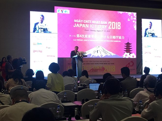 Japan ICT Day 2018 opens in Hanoi to promote VN-Japan cooperation, IT news, sci-tech news, vietnamnet bridge, english news, Vietnam news, news Vietnam, vietnamnet news, Vietnam net news, Vietnam latest news, Vietnam breaking news, vn news