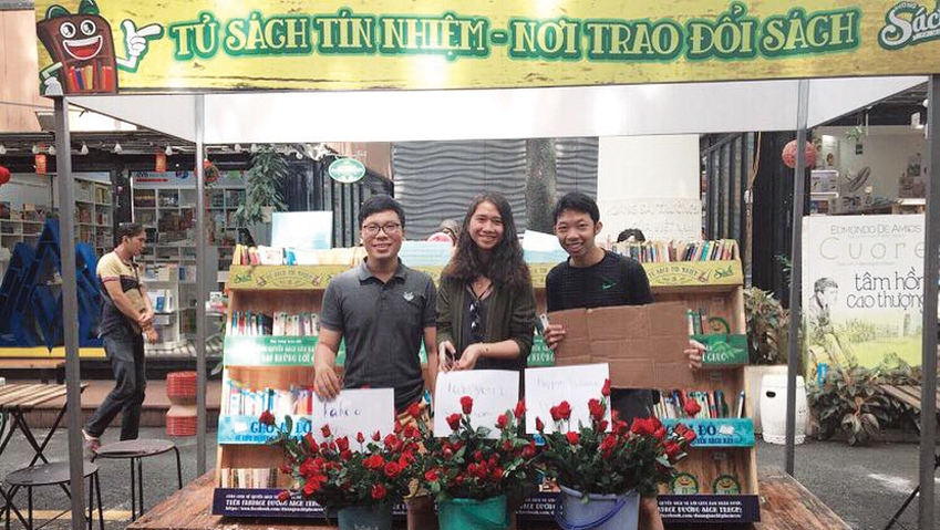 Youth project helps to spread reading culture in community, entertainment events, entertainment news, entertainment activities, what's on, Vietnam culture, Vietnam tradition, vn news, Vietnam beauty, news Vietnam, Vietnam news, Vietnam net news, vietnamne