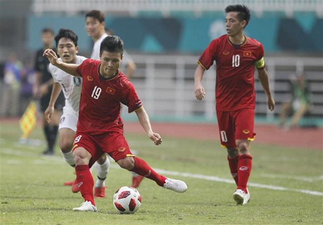 ASIAD 2018: Foreign news outlets hail Vietnamese squad's brave run, Sports news, football, Vietnam sports, vietnamnet bridge, english news, Vietnam news, news Vietnam, vietnamnet news, Vietnam net news, Vietnam latest news, vn news, Vietnam breaking news