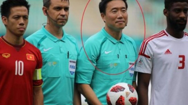 ASIAD 2018: Korean people want referee of Vietnam-UAE match banned, Sports news, football, Vietnam sports, vietnamnet bridge, english news, Vietnam news, news Vietnam, vietnamnet news, Vietnam net news, Vietnam latest news, vn news, Vietnam breaking news
