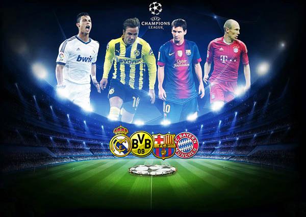 Real, Galatasaray, Bernabeu, Ronaldo, Barca, Bayern, Dortmund