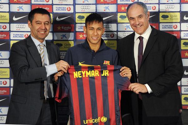 Neymar, Barca, Messi, Tito