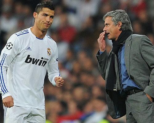 Mourinho, Ronaldo, Real