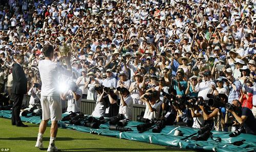 Murray, Djokovic, Wimbledon