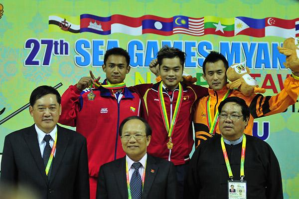 Thư SEA Games, Nay Pyi Taw, 27, TTVN, HCV, U23 Việt Nam