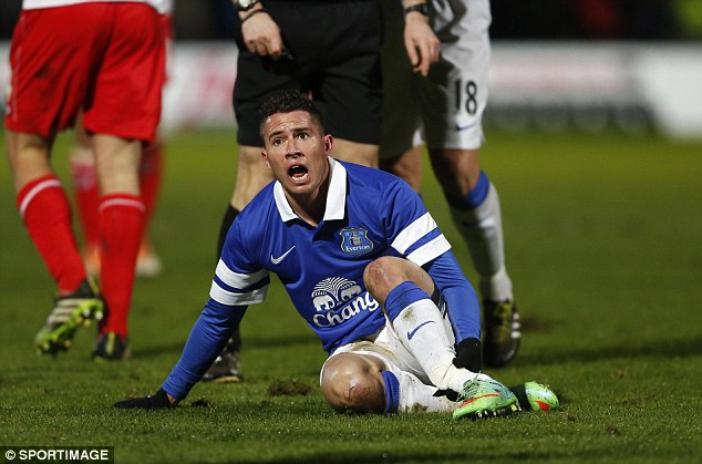 Everton, Bryan Oviedo