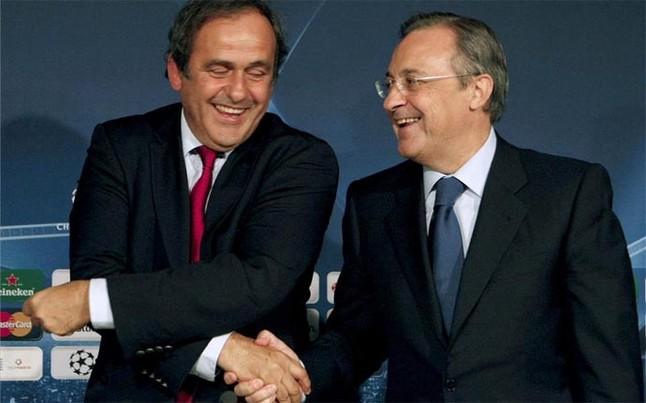 Platini, bốc thăm, Champions League, Ronaldo, FIFA