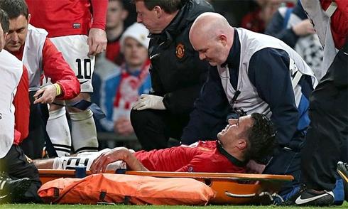 Van Persie, chấn thương, World Cup 2014, M.U, Moyes, Premier League