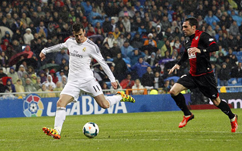 Bale, Ronaldo, Real Madrid, La Liga, siêu phẩm, Ancelotti