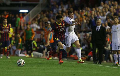 Bale, Real, Barca, Ronaldo