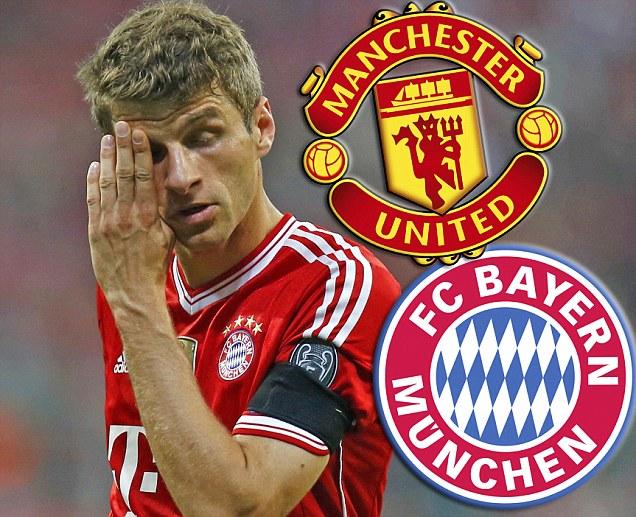 M.U, Muller, Bayern, Pep