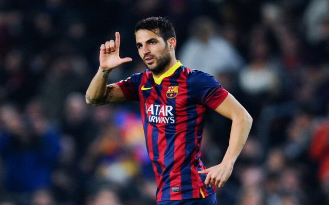 Man City, Fabregas