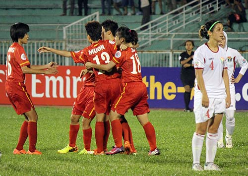 tuyển nữ Việt Nam, World Cup