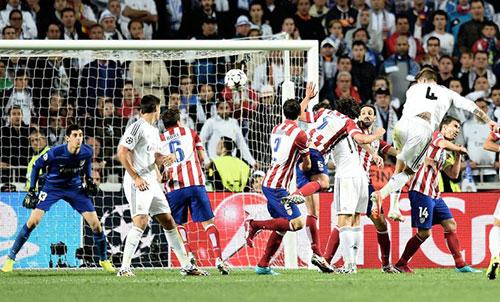 Chiến binh, Ramos, Real,  Decima