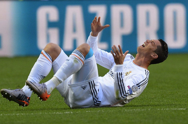 WC, Ronaldo, chấn thương