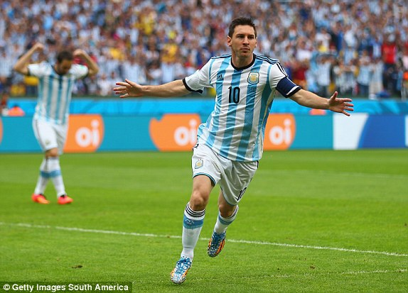 Messi, World Cup