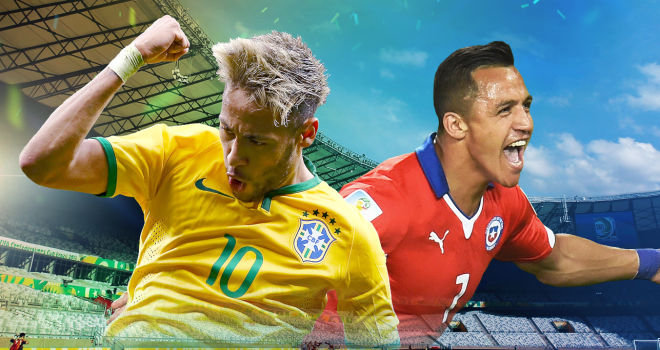 Brazil, Chile, World Cup
