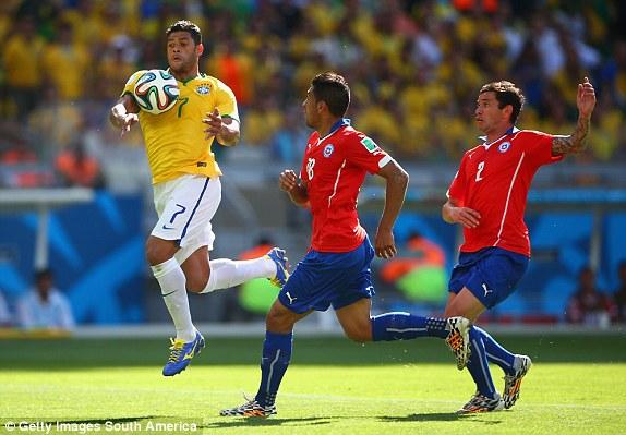 Brazil, Chile