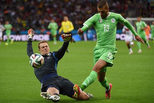 Đức, Algeria, World Cup