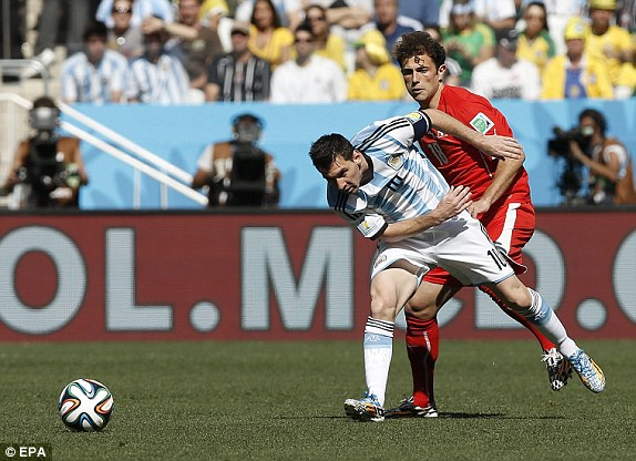 Argentina, Thụy Sĩ, Messi, World Cup
