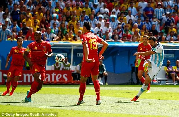 Argentina, Bỉ, Messi, Hazard