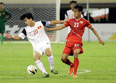 U19 Việt Nam, Myanmar, Công Phượng