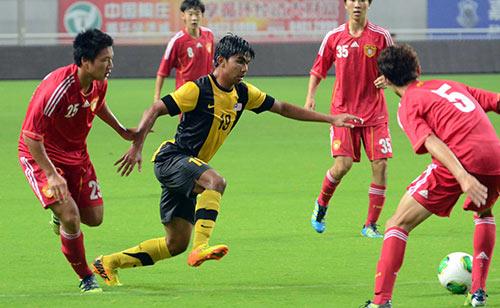 U19 Trung Quốc dùng