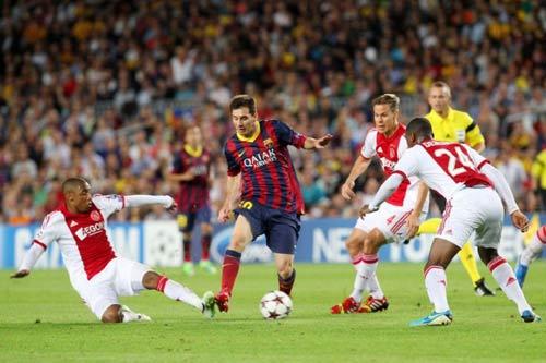 Barca - Ajax: Quá khó cho khách