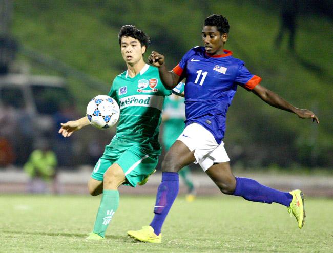 Công Phượng, U19 HA.GL, U21 báo Thanh Niên, bán kết
