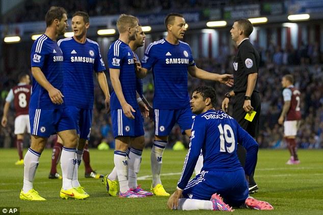 Bí mật đằng sau chấn thương của Diego Costa